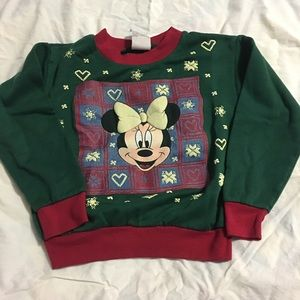 Vintage kid's sweatshirt Minnie Mouse